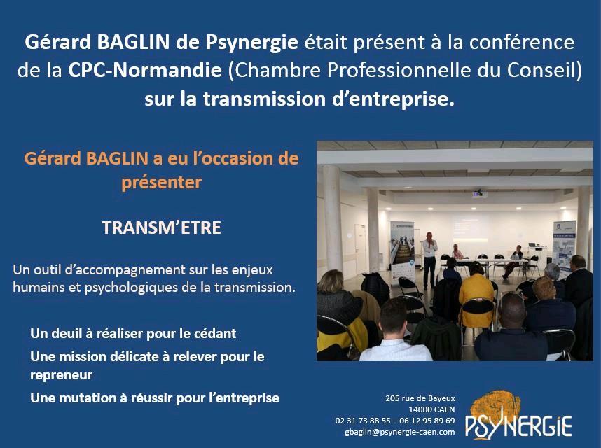 CPC-Normandie, Transm'être